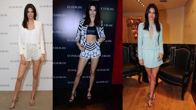 lançamento da nova coleção Le Lis Blanc com Kendall Jenner