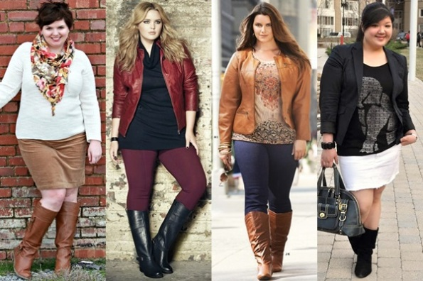 Plus-Size-Fall-Winter-2013-Fashion-Trend-with-Boots