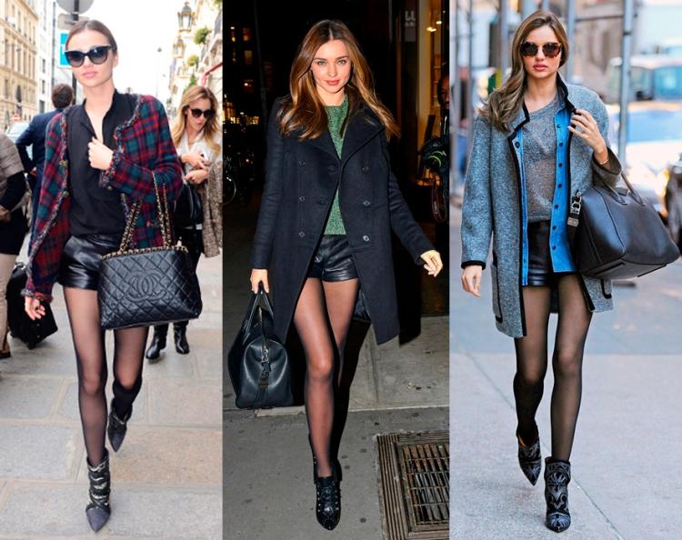 Miranda-kerr-shorts-medias-looks