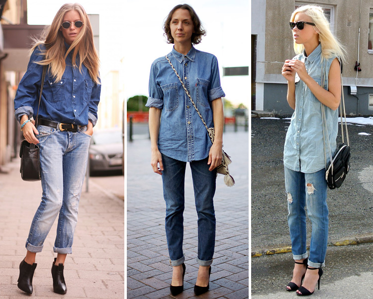 ZARA IS THE NEW BLACK - doble denim 1