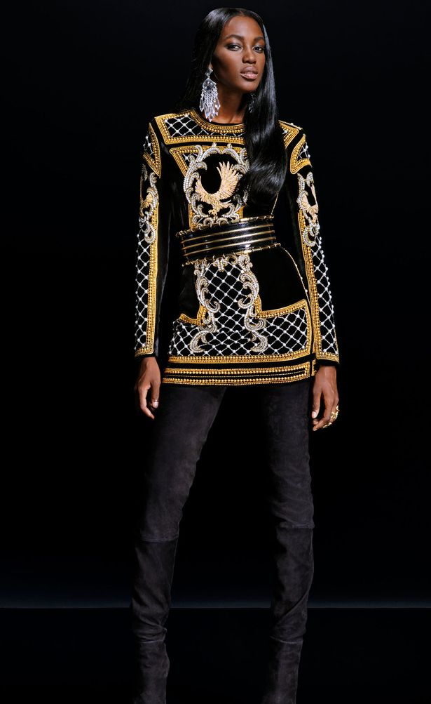 Balmain-x-HM-EMBROIDERED-DRESS