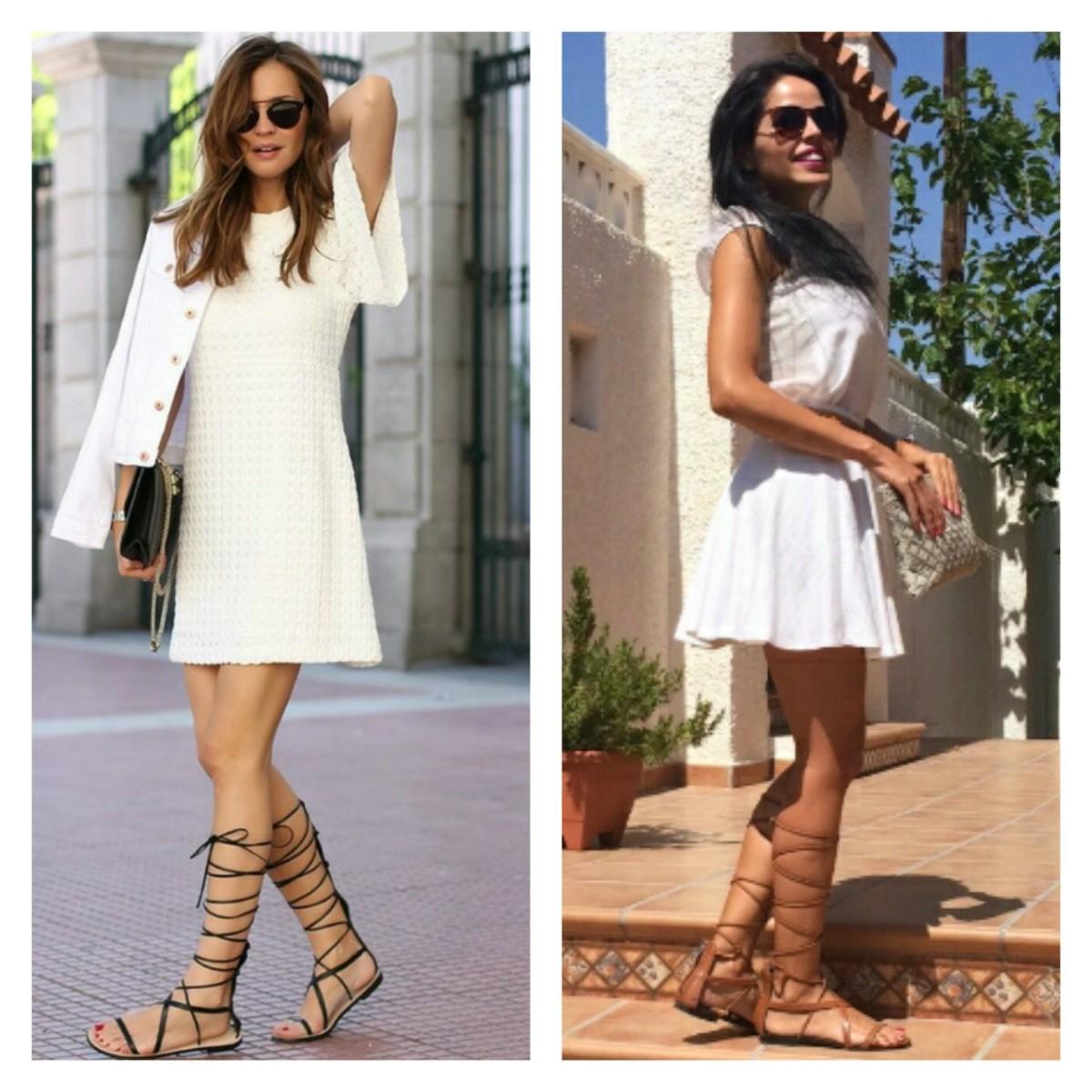 Alerta Fashion: Sandálias Gladiadoras
