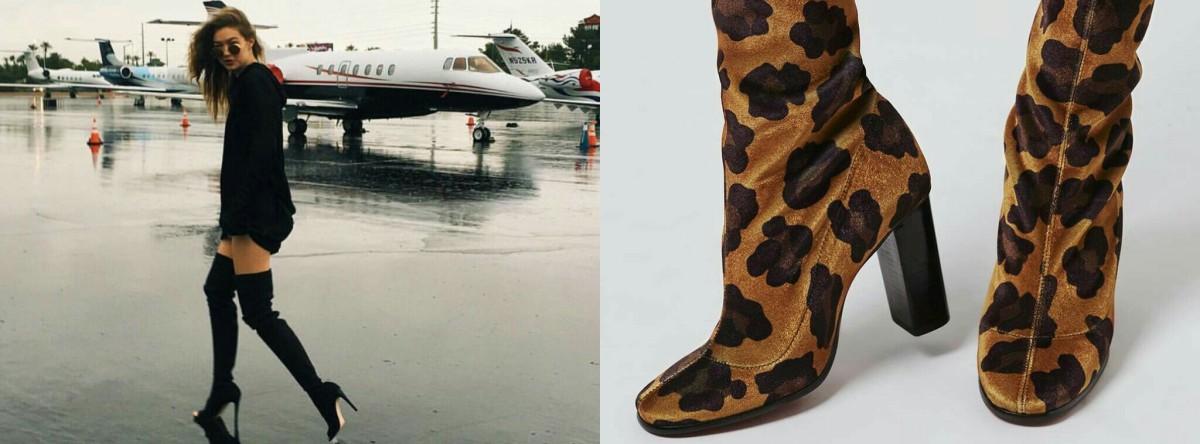 Tendencia: Sock Boots