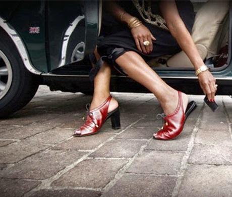 Как заменить каблук на женских туфлях
