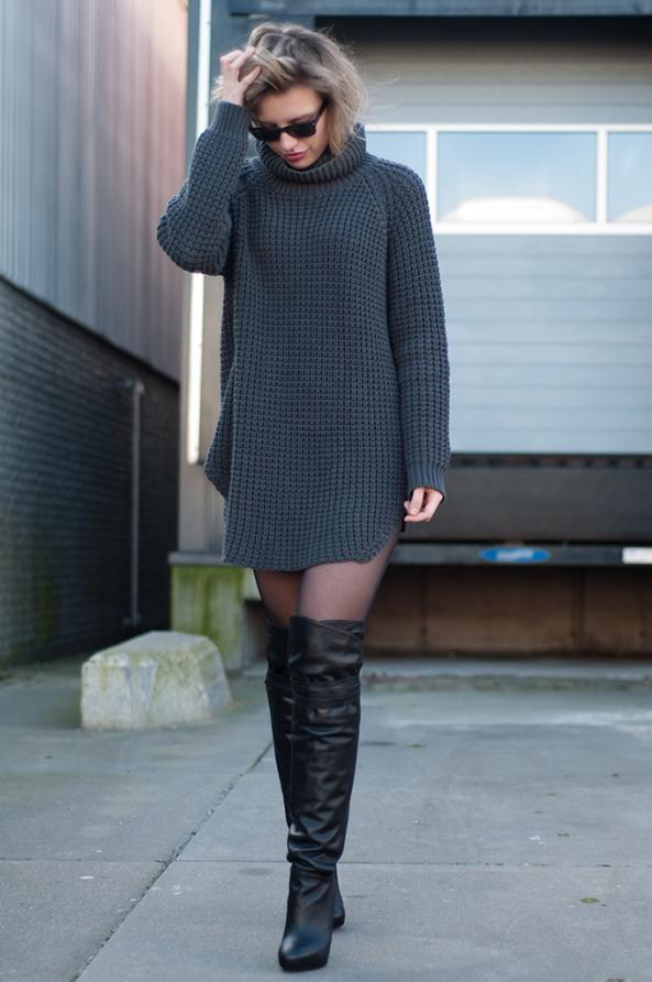 vestido-jersey-de-punto-en-gris-oscuro-botas-sobre-la-rodilla-de-cuero-negras-original-16035